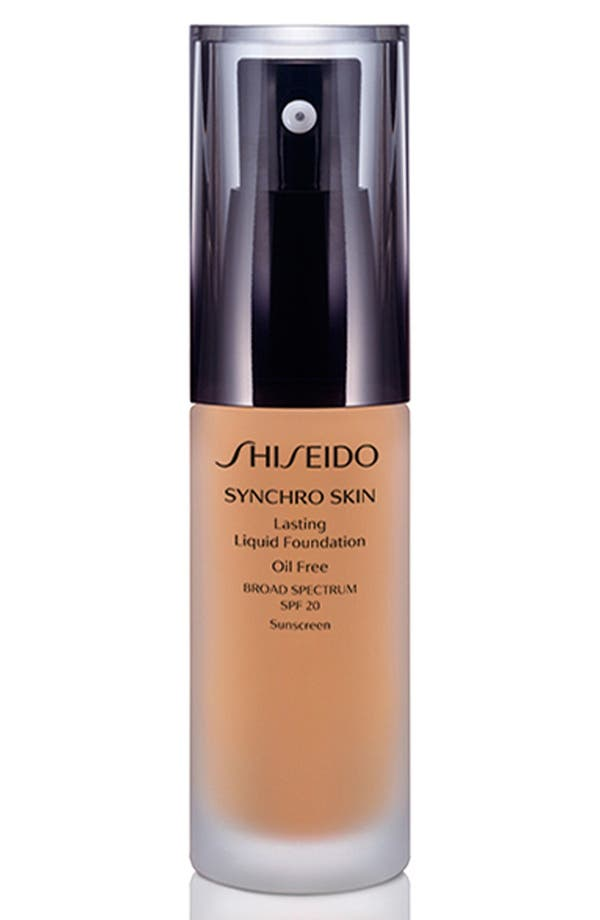 SHISEIDO 'Synchro Skin' Lasting Liquid Foundation Broad Spectrum