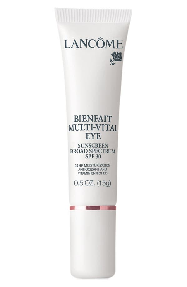 Alternate Image 1 Selected - Lancôme Bienfait Multi-Vital Eye SPF 28 Sunscreen