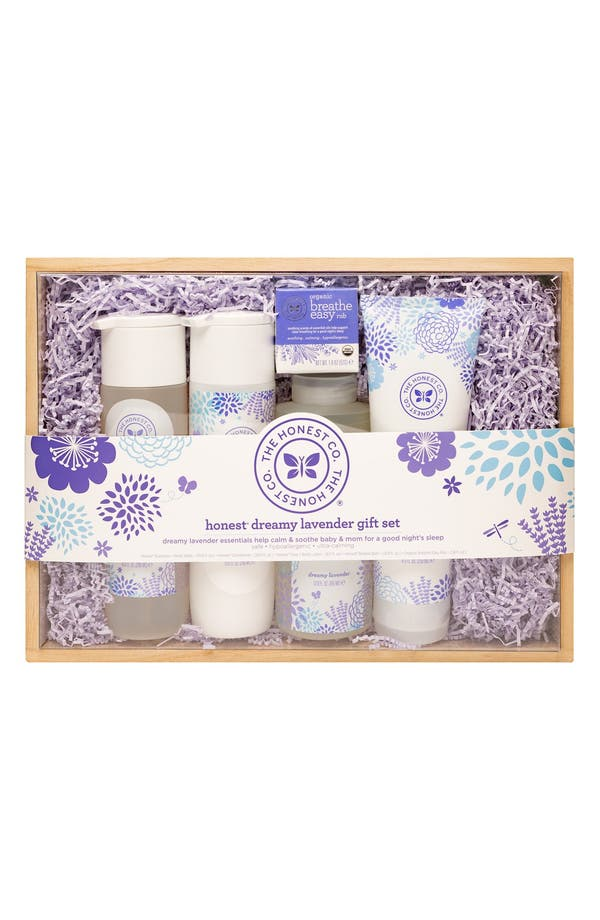 Alternate Image 1 Selected - The Honest Company 'Dreamy Lavender' Bath Time Gift Set (Nordstrom Exclusive)