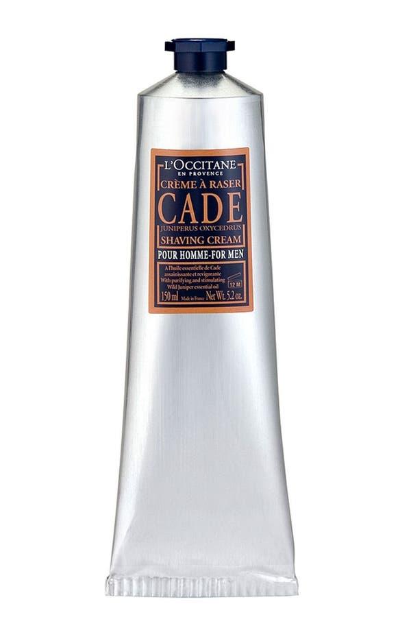 Main Image - L'Occitane 'Cade' Shaving Cream