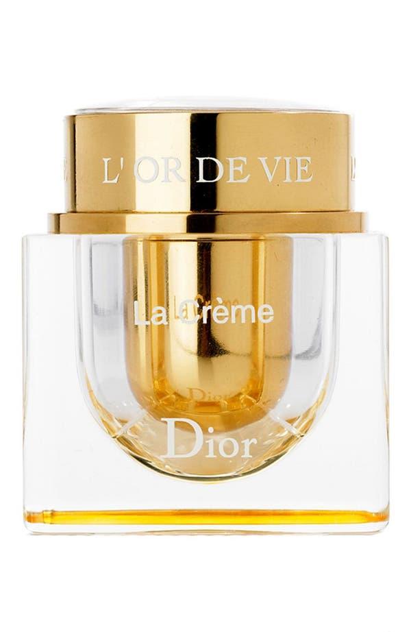 Alternate Image 1 Selected - Dior 'L'Or de Vie' La Creme