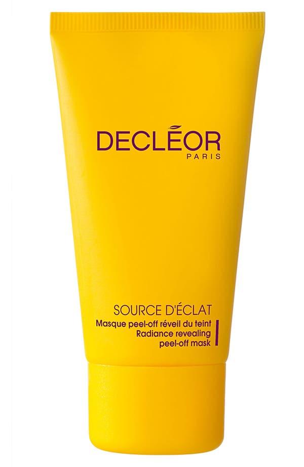 Alternate Image 1 Selected - Decléor 'Source d'Éclat' Radiance Revealing Peel-Off Mask