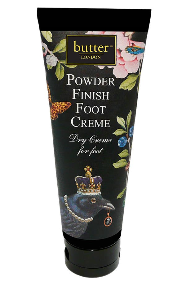 Alternate Image 1 Selected - butter LONDON Powder Finish Foot Creme