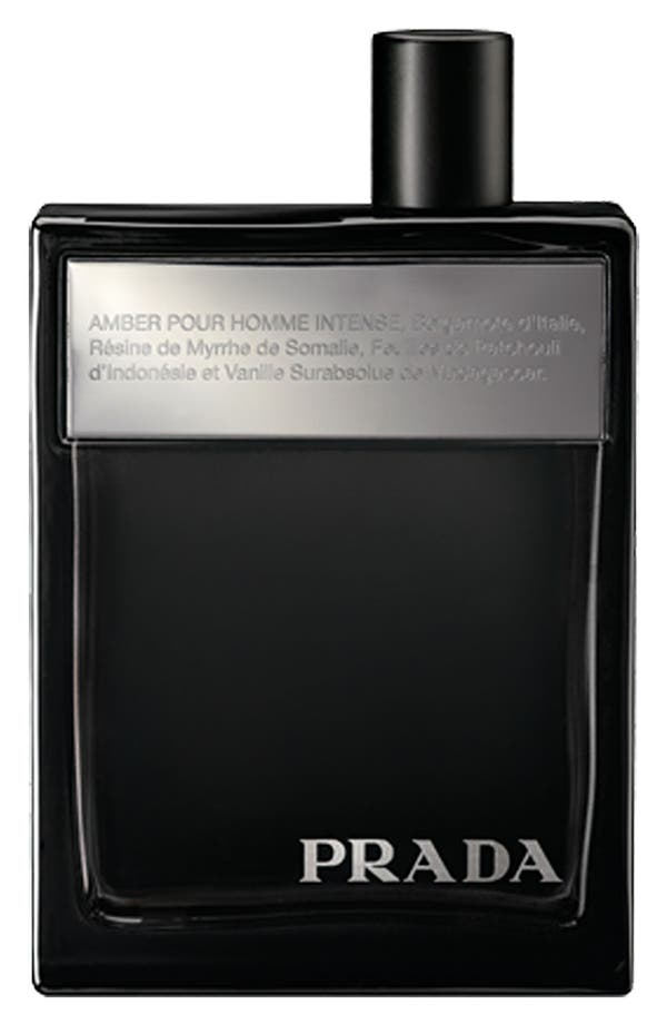 Alternate Image 1 Selected - Prada 'Amber pour Homme Intense' Eau de Toilette