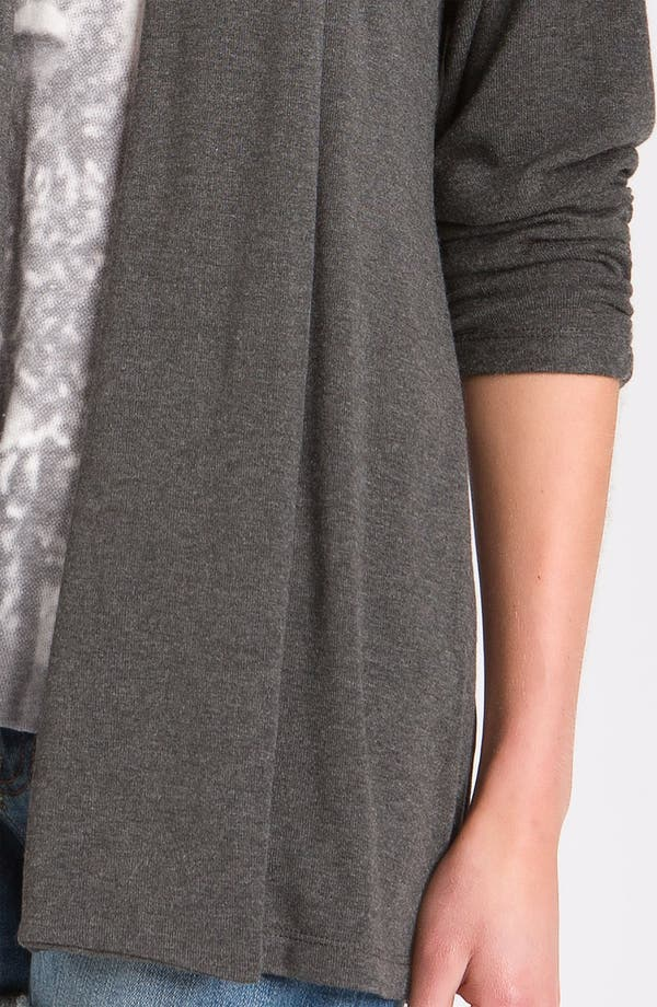 Alternate Image 3  - MOD.lusive Ruched Sleeve Long Cardigan (Nordstrom Exclusive)