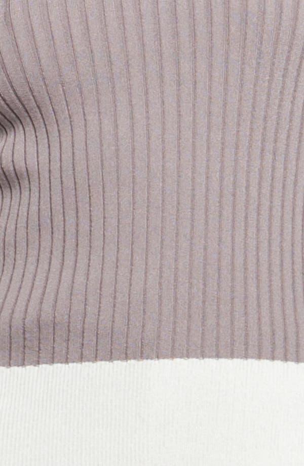 Alternate Image 2  - St. John Yellow Label Colorblock Rib Knit Sweater