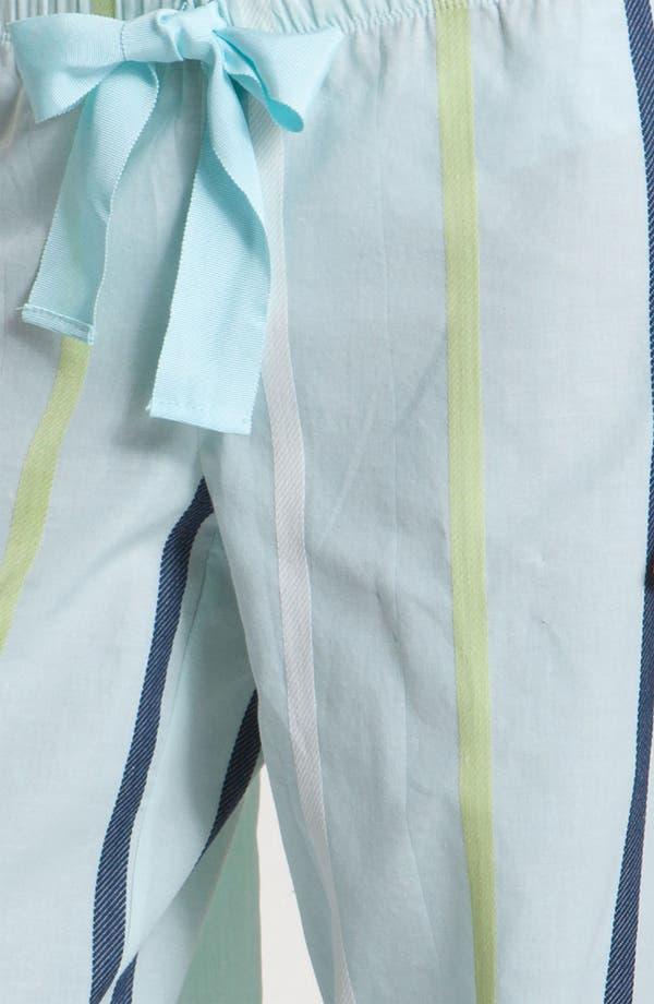 Alternate Image 3  - Hue 'Dobby Stripe' Lounge Pants