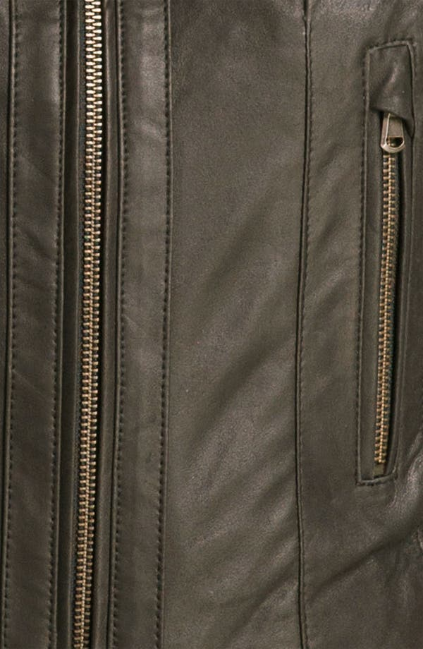 Alternate Image 3  - Bod & Christensen Leather & Ponte Crop Jacket