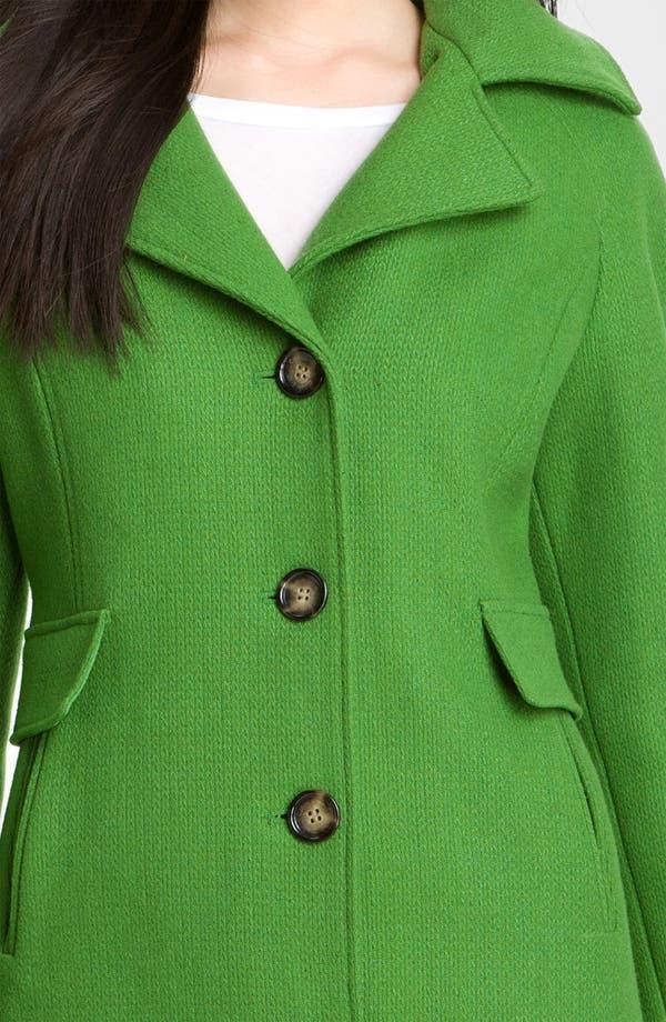 Alternate Image 4  - Calvin Klein Single Breasted Coat