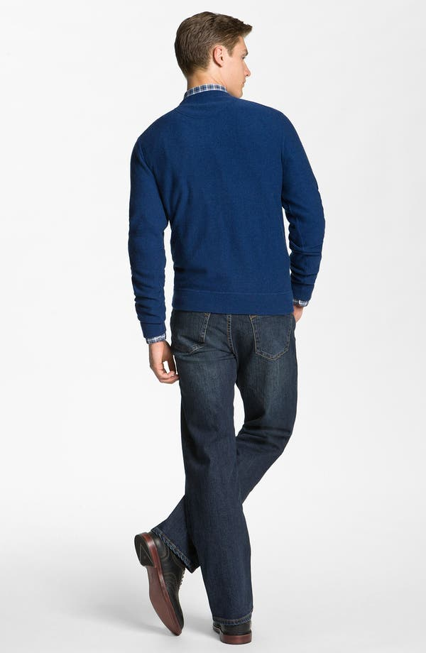 Alternate Image 5  - Hickey Freeman Wool & Cashmere Sweatshirt