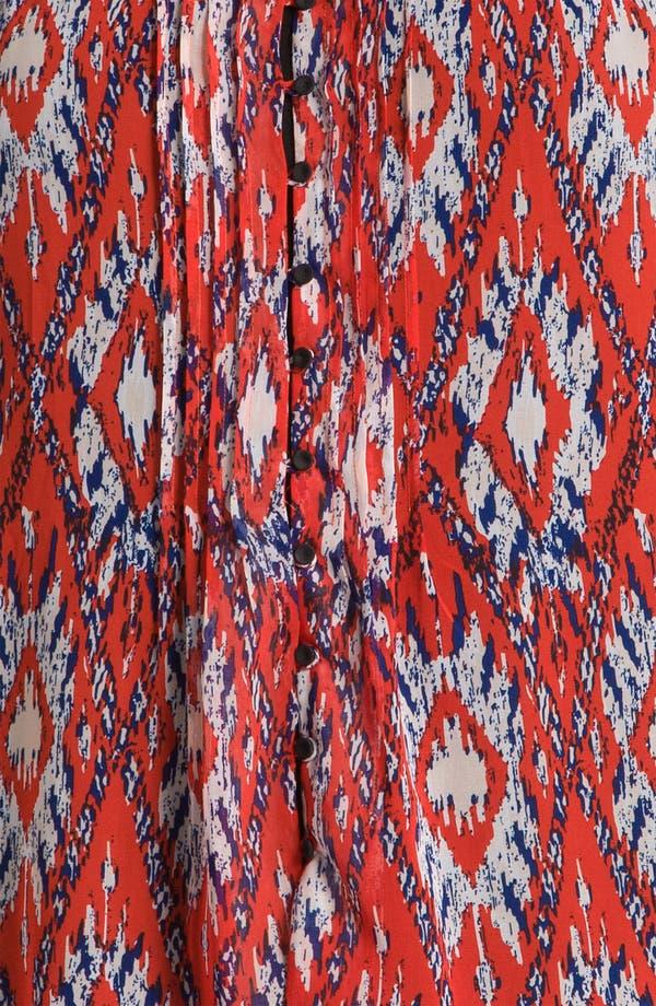 Alternate Image 3  - Daniel Rainn Sheer Print Blouse (Plus)