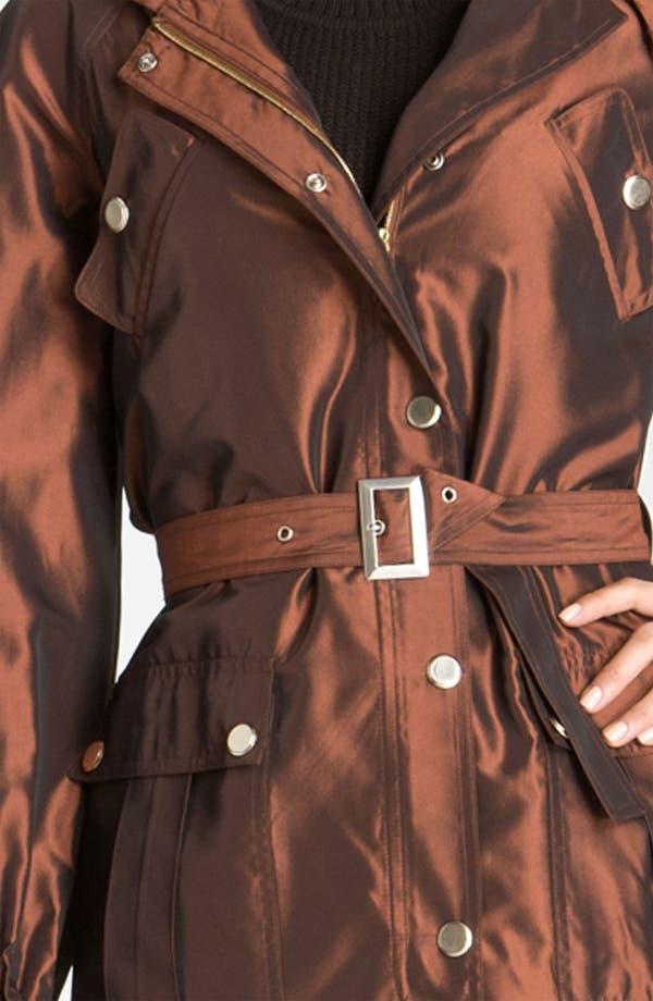 Alternate Image 3  - St. John Collection Hooded Taffeta Jacket