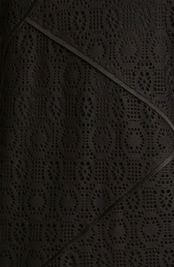 Alternate Image 3  - Adrianna Papell Seamed Lace Dress (Plus)