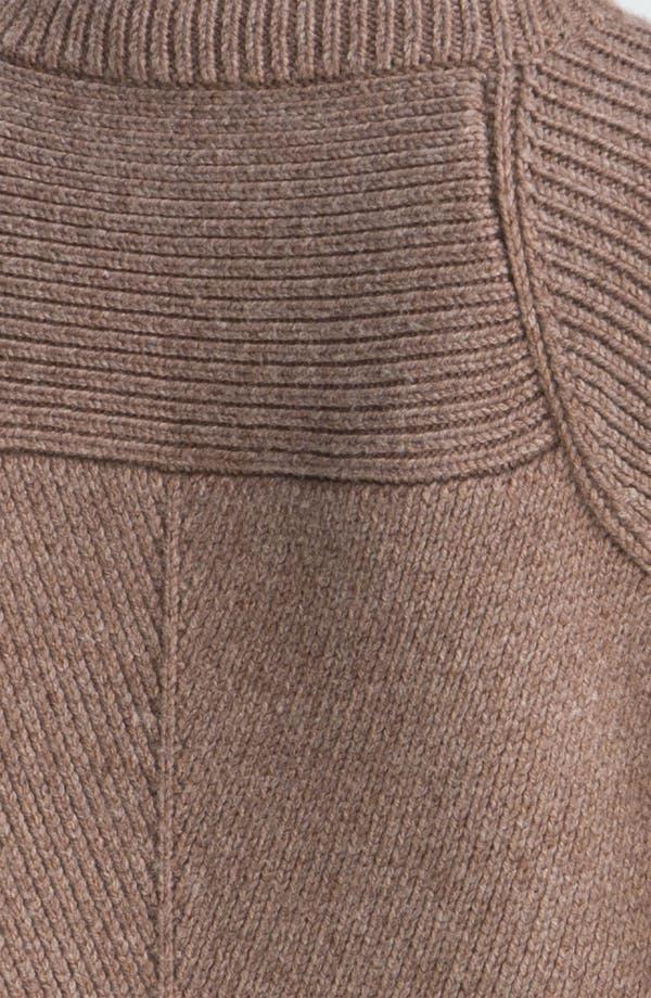 Alternate Image 3  - Derek Lam 10 Crosby Mixed Rib Turtleneck Sweater