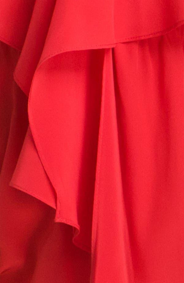 Alternate Image 3  - Amanda Uprichard 'Branston' Ruffle Silk Dress