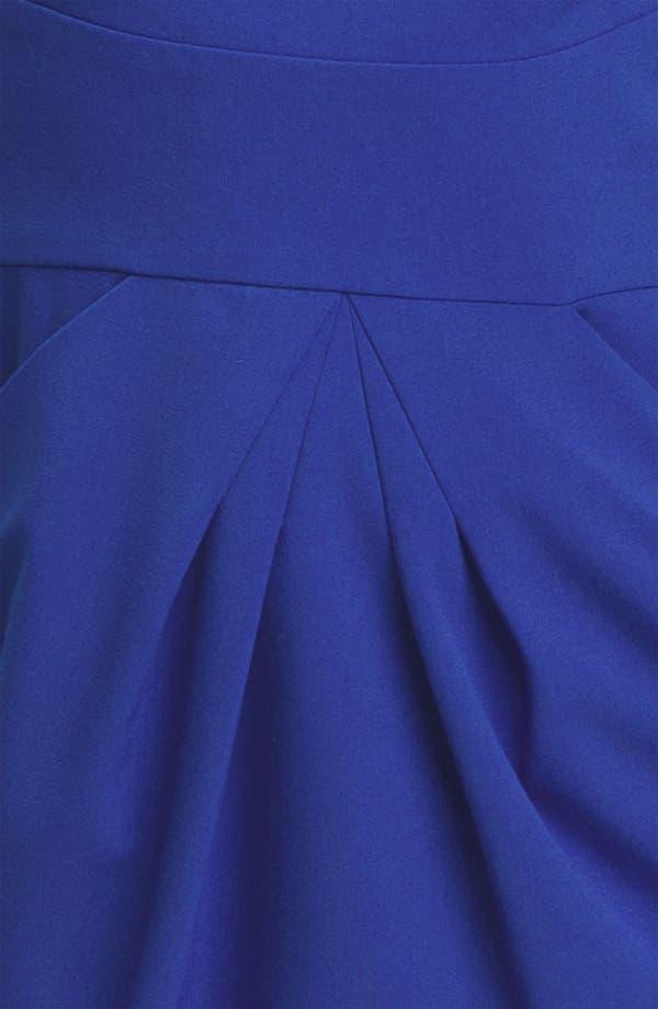 Alternate Image 2  - Calvin Klein Cap Sleeve Woven Sheath Dress