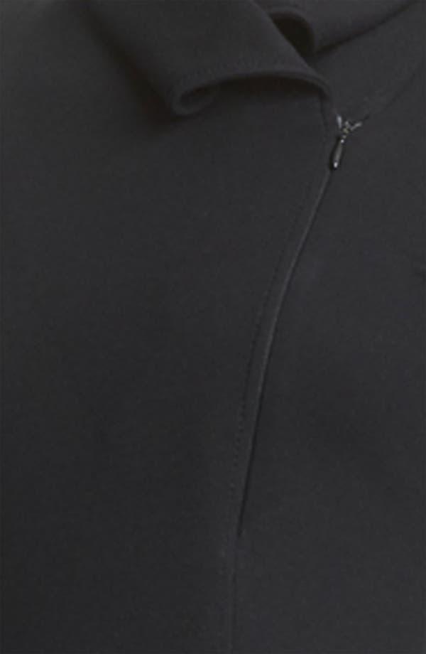 Alternate Image 3  - Armani Collezioni Zip Detail Jersey Dress