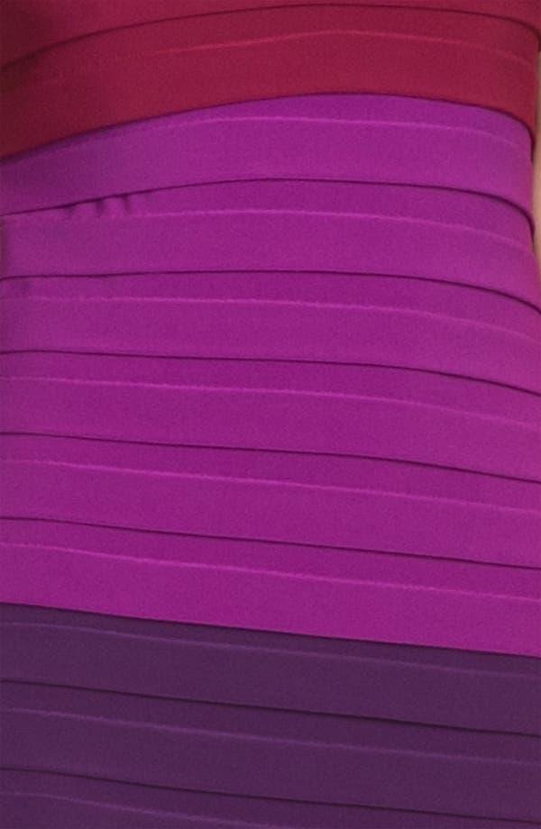 Alternate Image 3  - Max & Cleo 'Suzy' Strapless Shutter Pleat Jersey Sheath Dress