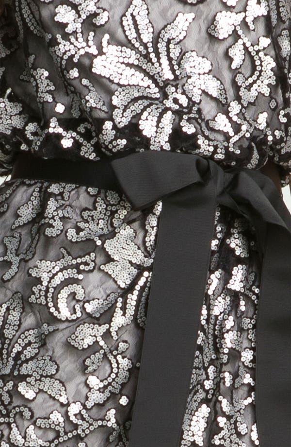 Alternate Image 3  - Tadashi Shoji Sequin Lace Tulle Dress