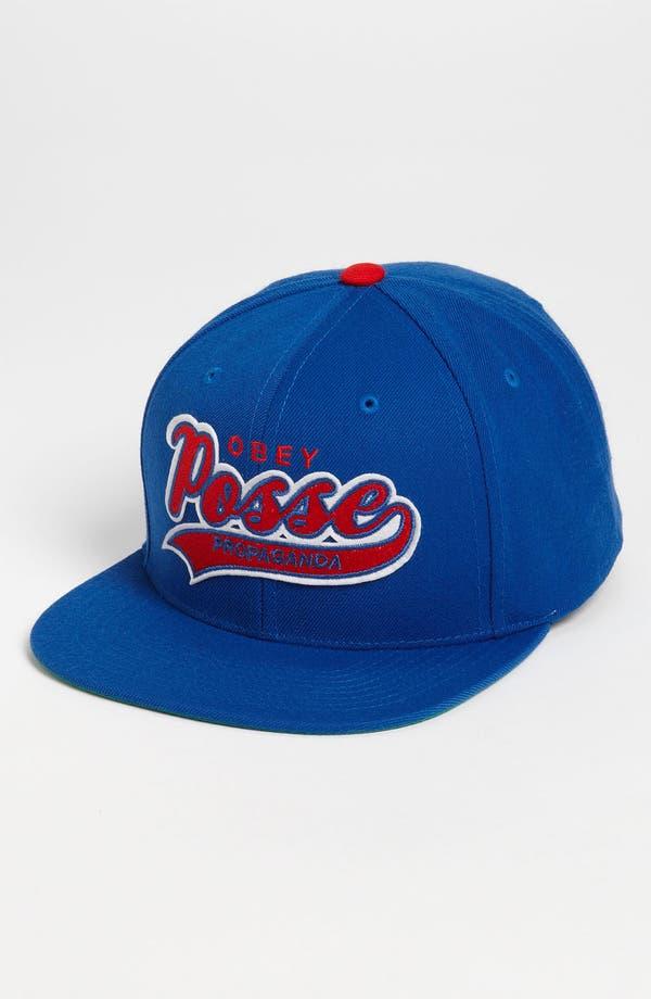 Alternate Image 1 Selected - Obey 'Original on Deck' Snapback Baseball Cap
