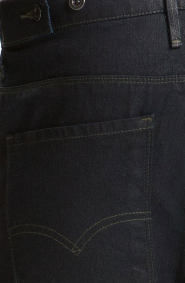 Alternate Image 4  - Levi's® '511™' Coated Slim Straight Leg Jeans (Dean)