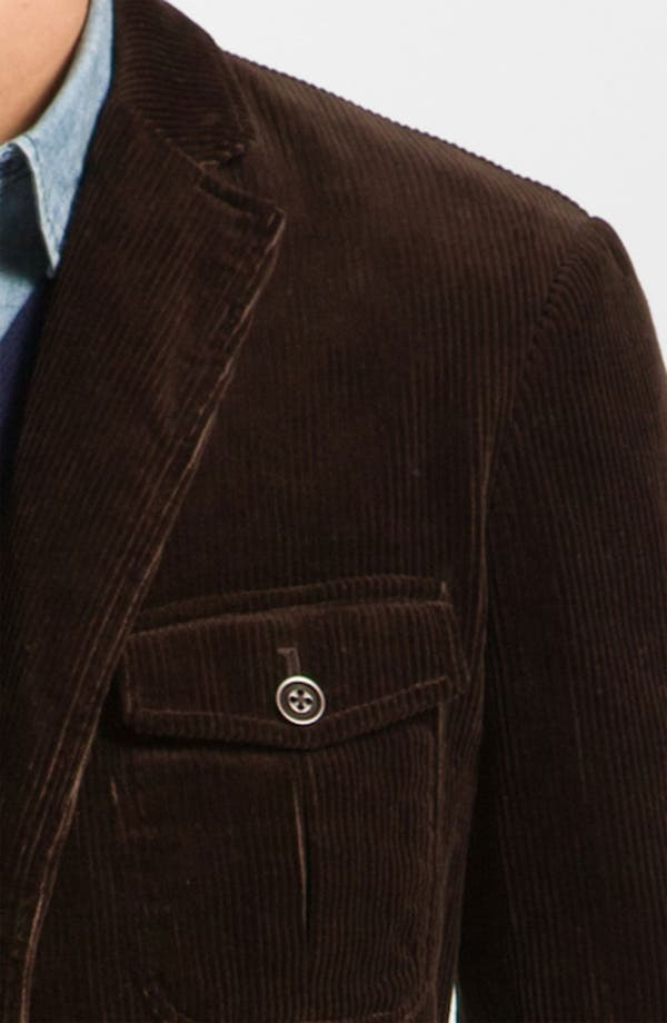 Alternate Image 3  - Façonnable Denim Corduroy Sportcoat