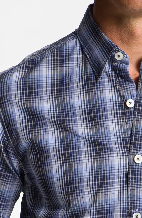 Alternate Image 3  - Tommy Bahama Denim 'Phan-Tastic Plaid' Sport Shirt