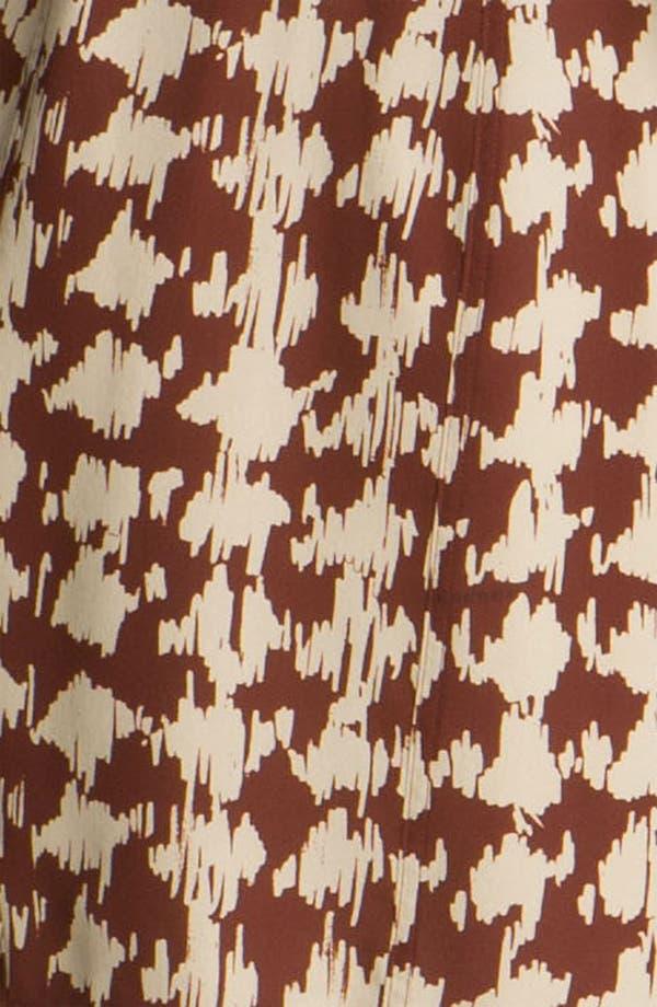Alternate Image 3  - Burberry Brit Print Silk Dress