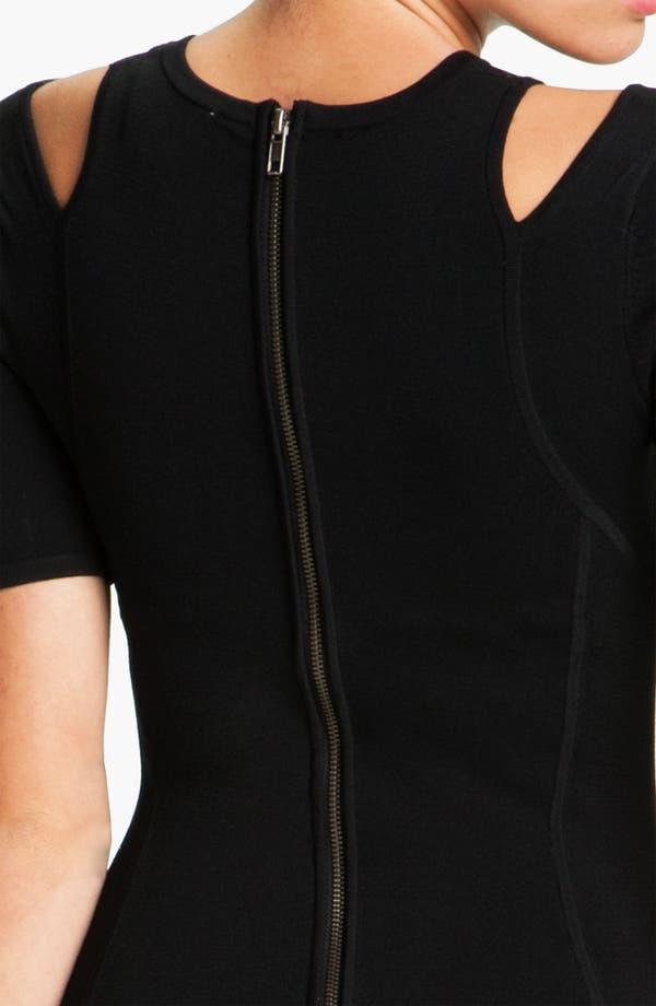 Alternate Image 3  - French Connection 'Dani' Cutout Crepe Sheath Dress