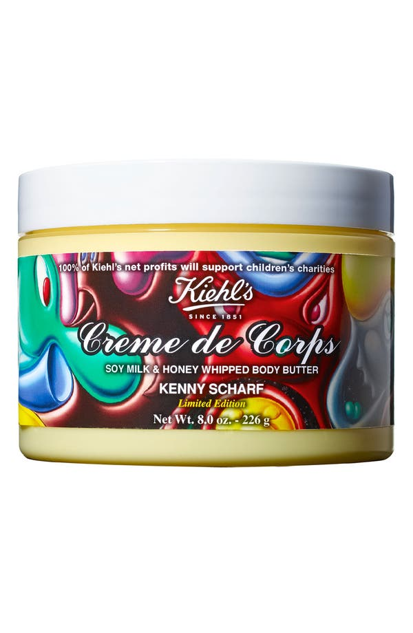 Main Image - Kiehl's Since 1851 'Creme de Corps by Kenny Scharf' Whipped Body Butter