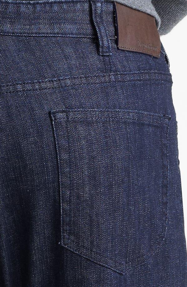 Alternate Image 4  - Zegna Sport Straight Leg Jeans