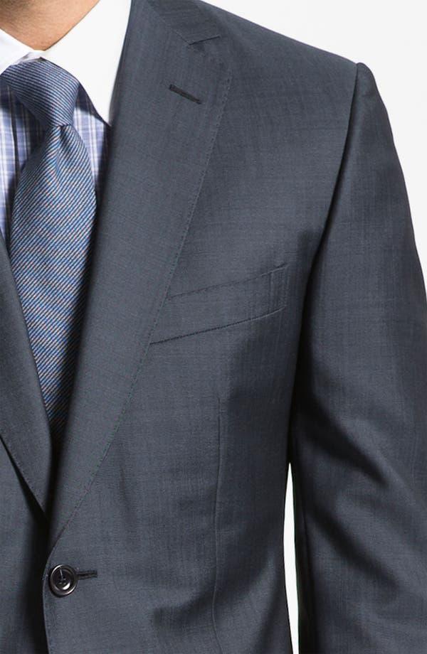 Alternate Image 6  - Z Zegna Trim Fit Wool Suit