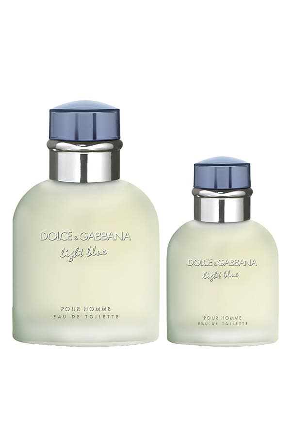 Alternate Image 2  - Dolce&Gabbana Beauty 'Light Blue Pour Homme' Eau de Toilette Duo