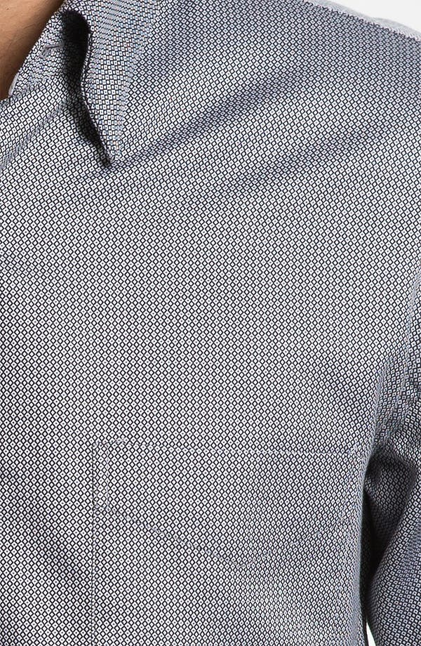 Alternate Image 3  - Canali Modern Fit Sport Shirt