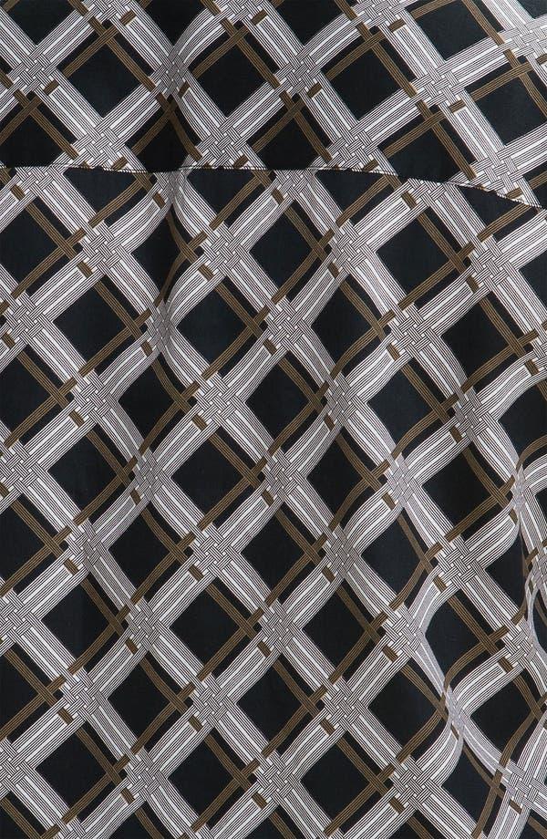 Alternate Image 3  - Foxcroft 'Graphic Plaid' Wrinkle Free Shaped Shirt (Plus)