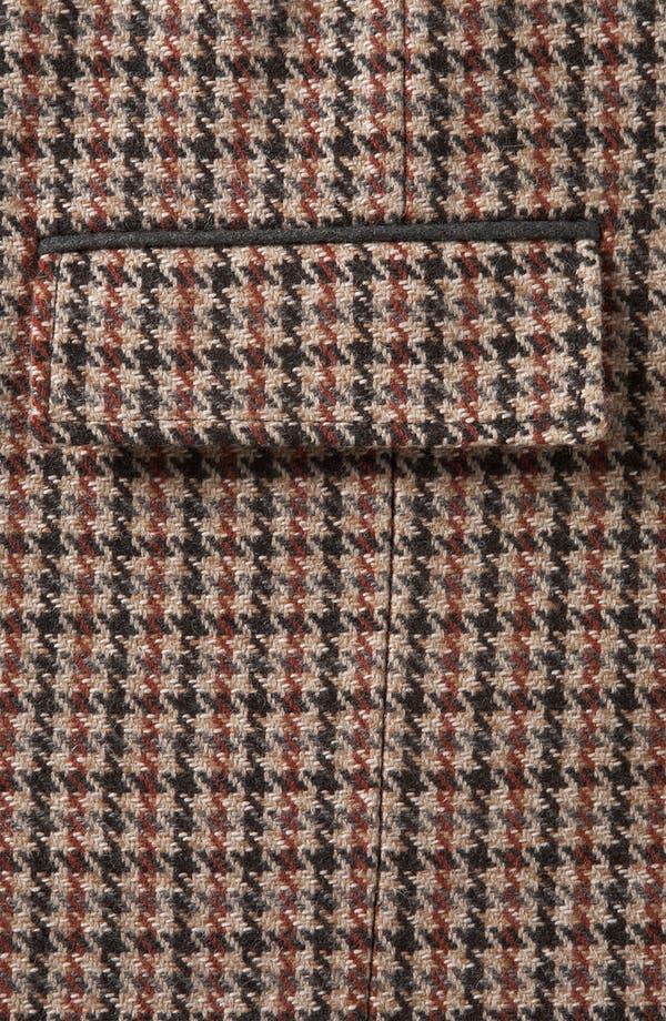 Alternate Image 3  - Topshop Houndstooth Overcoat