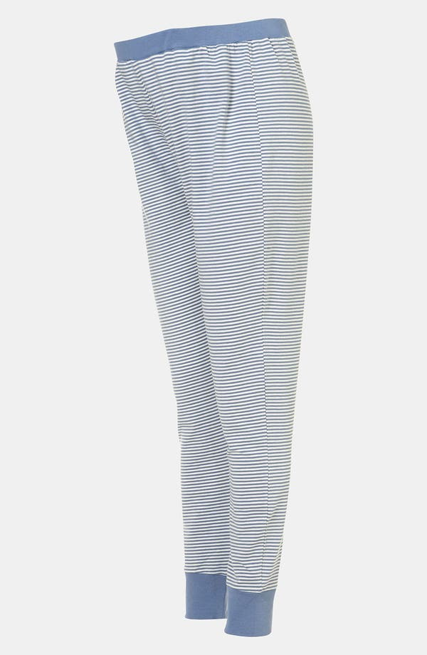 Alternate Image 2  - Topshop Stripe Maternity Pajama Pants