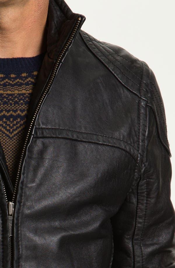 Alternate Image 3  - UGG® Australia 'Garrapata' Leather Jacket
