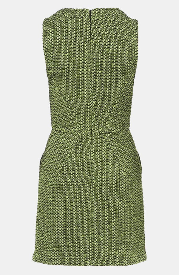 Alternate Image 2  - Topshop Bouclé Dress
