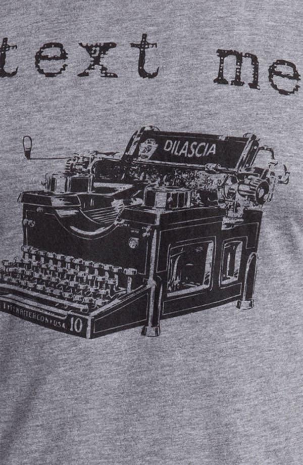 Alternate Image 3  - DiLascia 'Text Me' T-Shirt