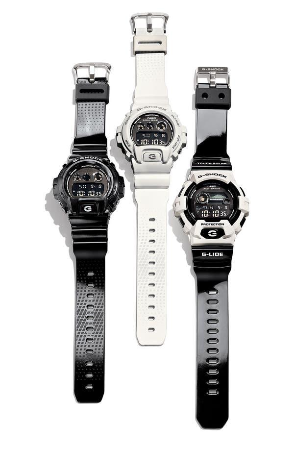 Alternate Image 3  - G-Shock 'Tidegraph' Digital Watch, 55mm x 51mm