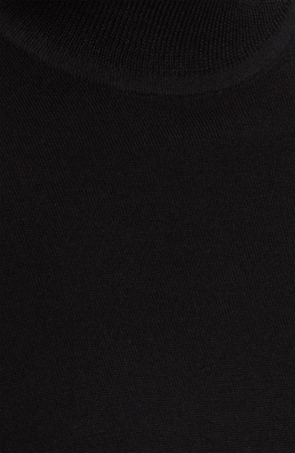 Alternate Image 3  - Nordstrom Mock Neck Merino Wool Sweater