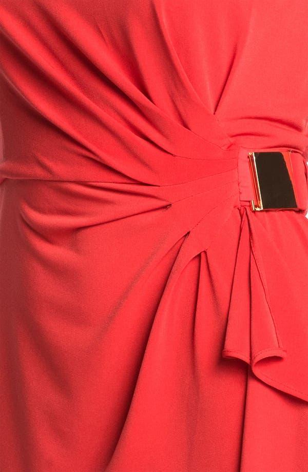 Alternate Image 3  - Eliza J Side Drape Jersey Sheath Dress