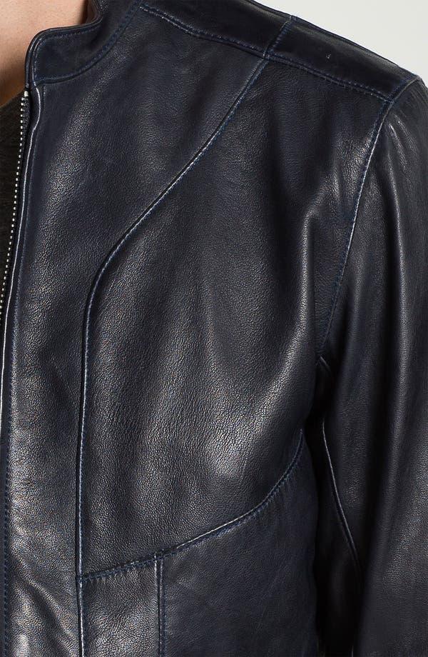 Alternate Image 3  - Bod & Christensen Leather Moto Jacket