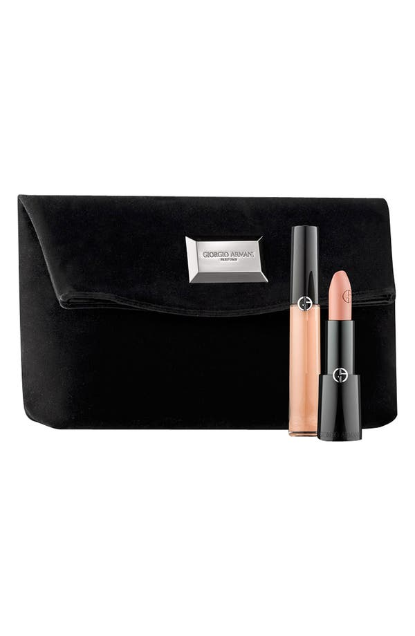 Alternate Image 1 Selected - Giorgio Armani Nude Lip Set ($60 Value)