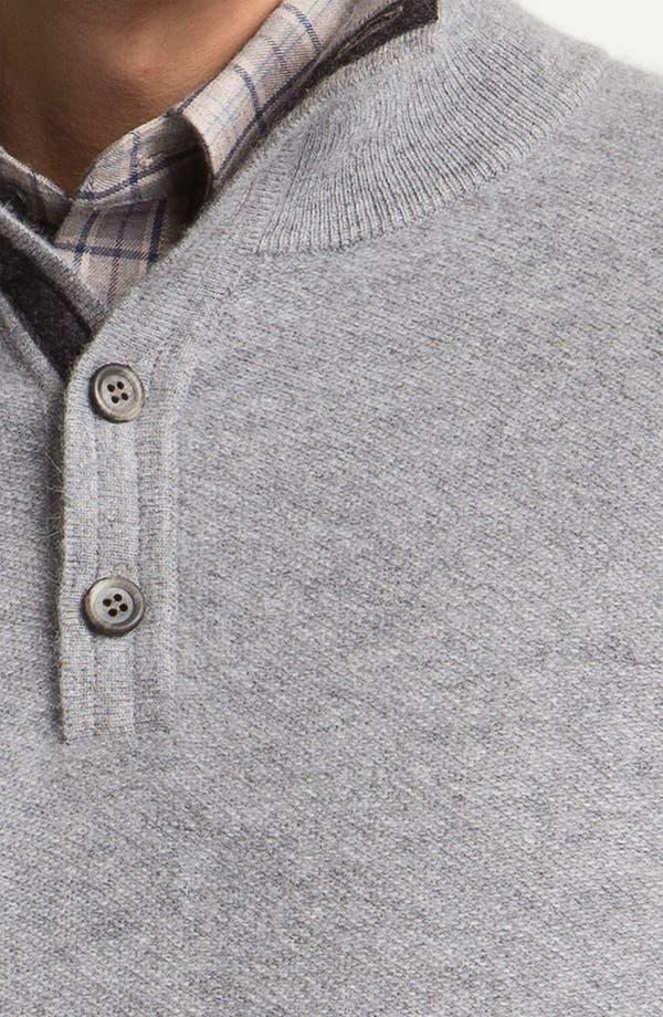 Alternate Image 3  - Orlandini Wool & Angora Mock Neck Sweater