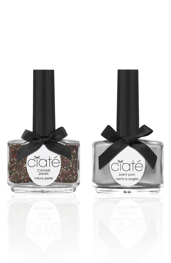 Alternate Image 1 Selected - Ciaté 'Caviar Manicure™ - Stop the Press' Set