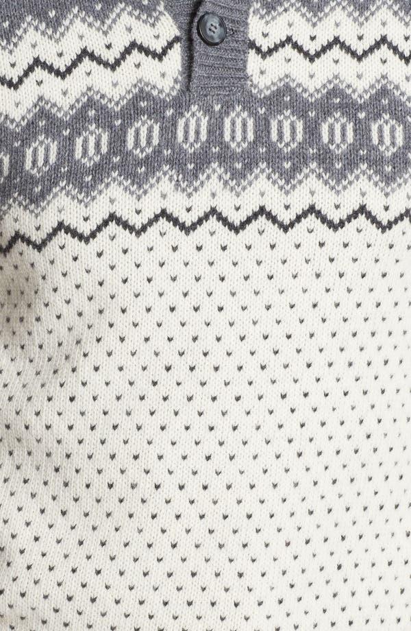 Alternate Image 3  - Fiesole Mock Neck Wool Blend Sweater