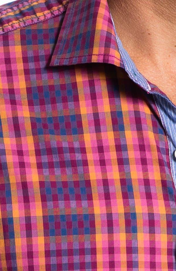 Alternate Image 3  - Tommy Bahama Denim 'Checking In' Sport Shirt