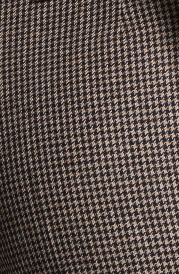 Alternate Image 3  - BOSS HUGO BOSS 'Tulia4' Check Pattern Trousers